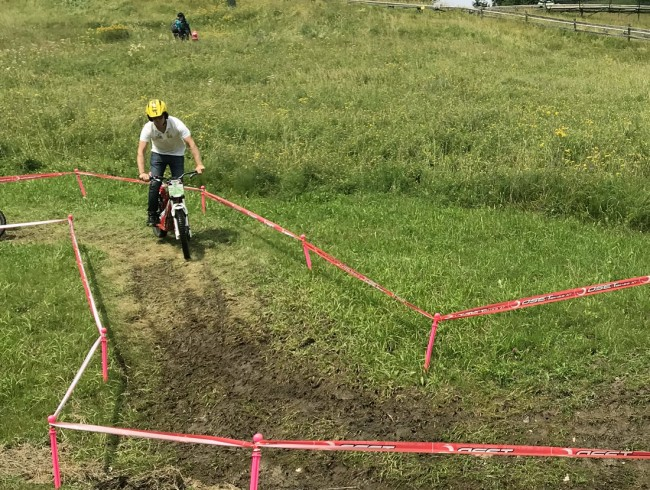 E-Trial Parcours am Lucky Flitzer in Flachau